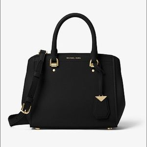 Michael Kors Benning Medium Handbag Black